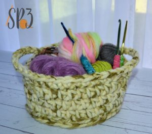 Simple Crochet Basket