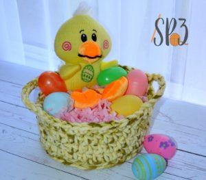 Simple Crochet Basket