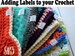 Adding Labels to your Crochet