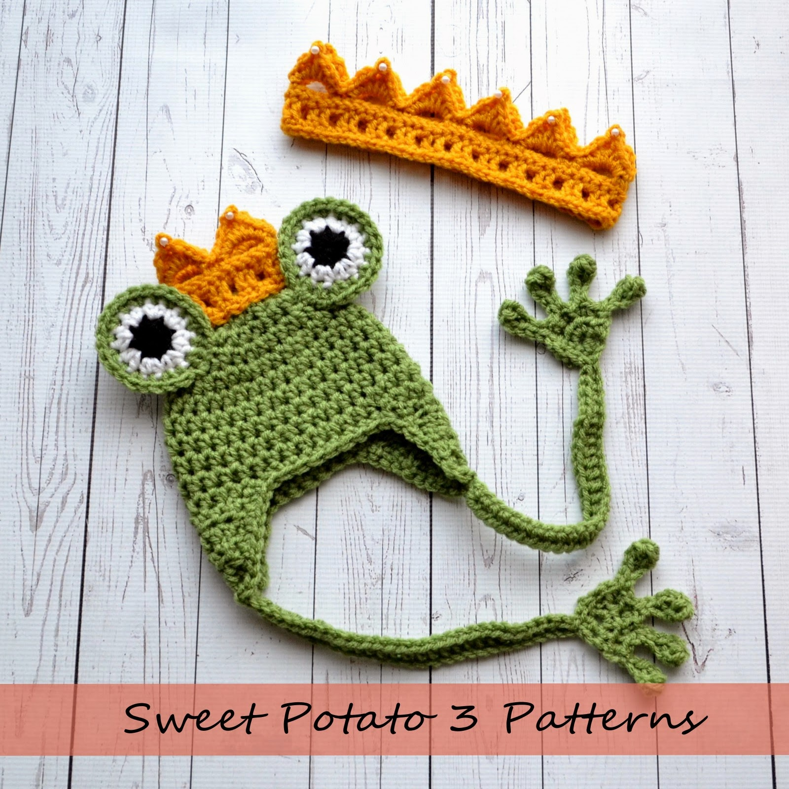 Princess And The Frog Crochet Pattern Release Sweet Potato 3