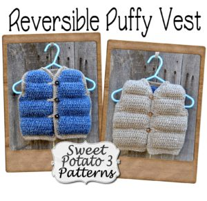 reversible puffy vest pattern