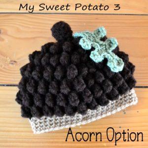 745d1a0dcdf Acorn   Pinecone Hat Crochet Pattern ~ Sweet Potato 3