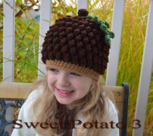 Acorn / Pinecone Hat