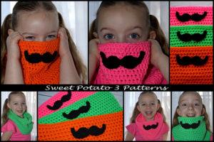 Mustache Cowl