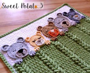 Ravelry: Newborn Set Teddy Bear pattern by Katy Ramil Krampolinka   244x300