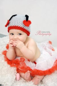 Love Bug Crochet Hat