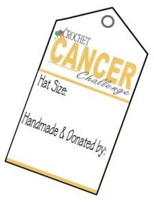 Cancer Challenge Tag