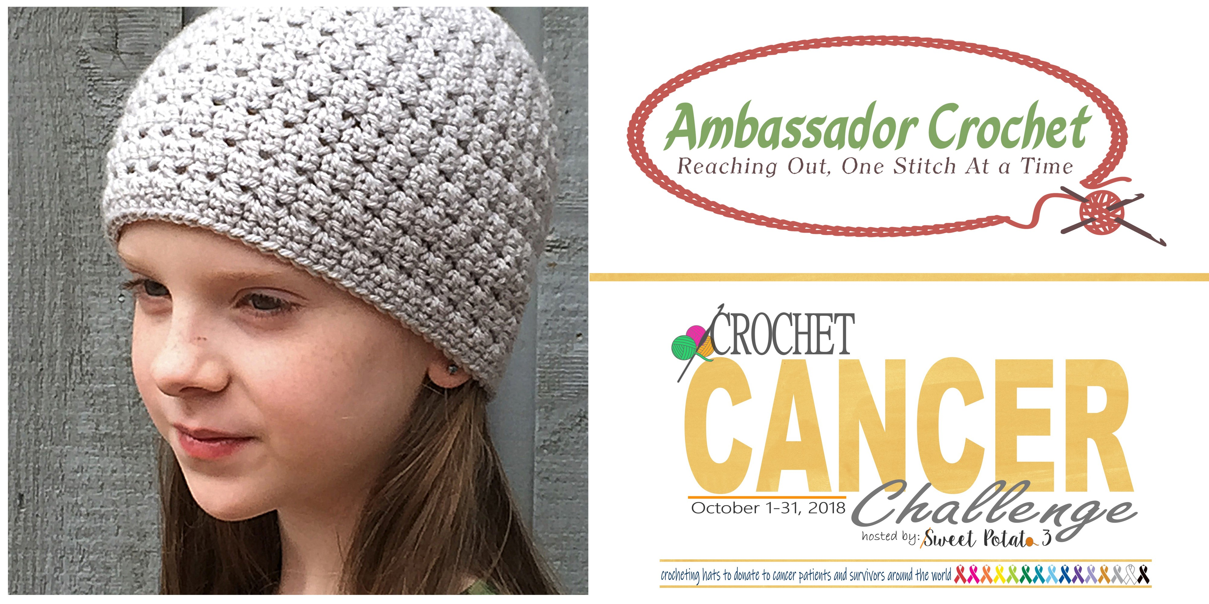 Day 12 Cancer Challenge Ambassador Crochet Sweet Potato 3