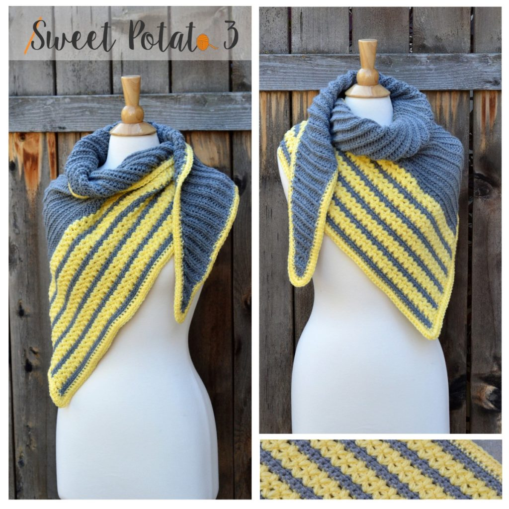 Cross My Heart Triangle Scarf